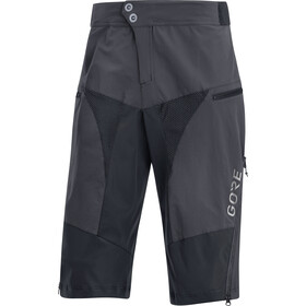 GORE WEAR C5 All Mountain Shorts Heren, terra grey/black